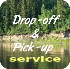 Drop-off service button