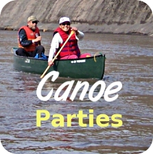 canoe parties button