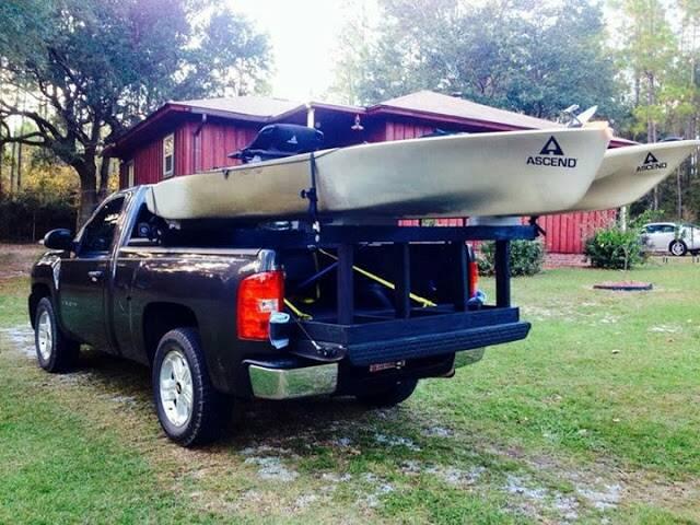 Lilblue S Kayak Rack